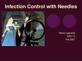 Infection Control with Needles