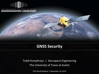 GNSS Security