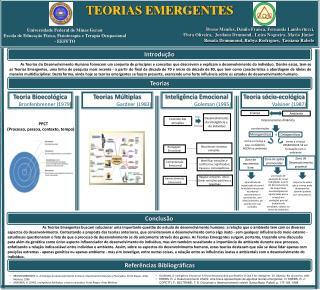 TEORIAS EMERGENTES