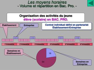 Contrat individuel défini en partenariat Établissement-Entreprise