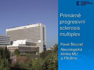 Primárně progresivní sclerosis multiplex