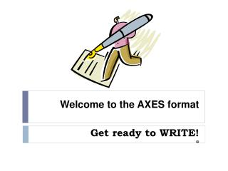 Welcome to the AXES format