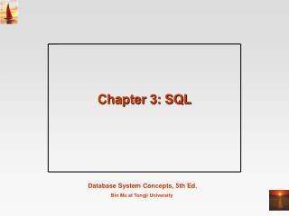 Chapter 3: SQL