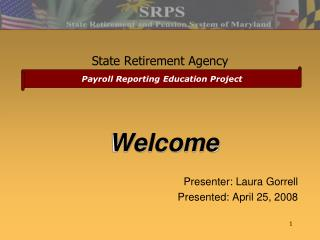 State Retirement Agency