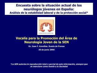 Vocalía para la Promoción del Área de Neurología Joven de la SEN