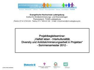 Projektmanagement Methoden der empirischen Sozialforschung Interkulturelles Lernen