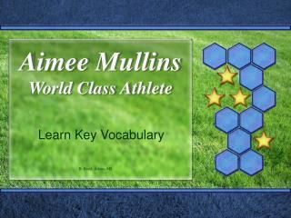 Aimee Mullins World Class Athlete