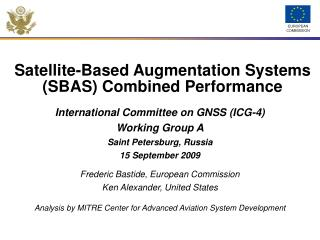Satellite-Based Augmentation Systems SBAS Combined Performance