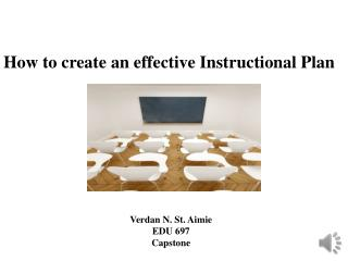 How to create an effective Instructional Plan