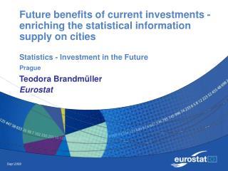 Teodora Brandmüller Eurostat