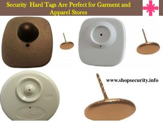 Security Hard Tags Are Perfect for Garment and Apparel Store