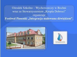 Festiwal ma zasięg ogólnopolski i trwa dwa dni