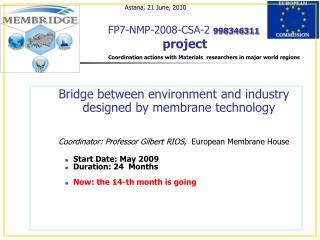 FP7-NMP-2008-CSA-2 998346311  project