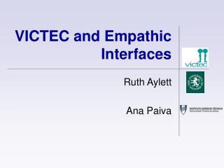 VICTEC and Empathic Interfaces