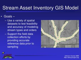 Stream Asset Inventory GIS Model