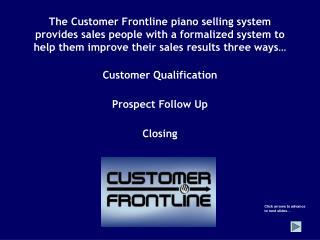 Customer Qualification