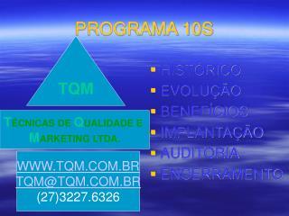 PROGRAMA 10S