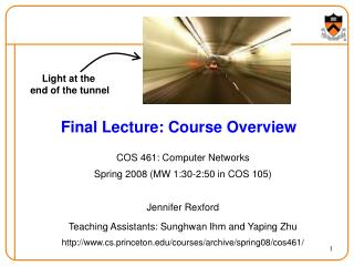 Final Lecture: Course Overview