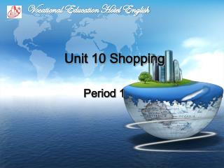 Unit 10 Shopping