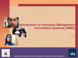Introduction to Homeless Management Information Systems (HMIS)