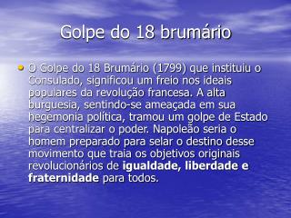 Golpe do 18 brumário