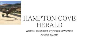 HAMPTON COVE HERALD