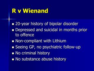R v Wienand