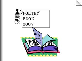 Poetry Book 2007