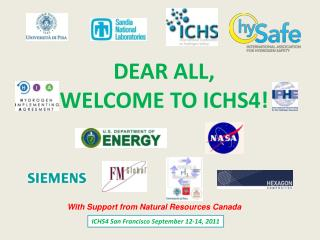 DEAR ALL, WELCOME TO ICHS4!