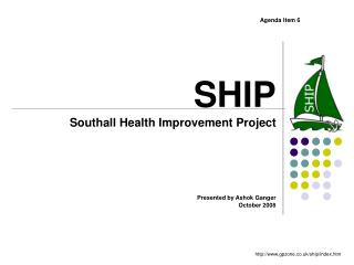 SHIP Southall Health Improvement Project
