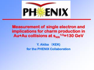 The PHENIX Collaboration