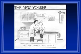 Ethics and Professionalism The Integrity of Medicine Impaired Physicians