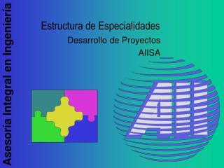 Estructura de Especialidades
