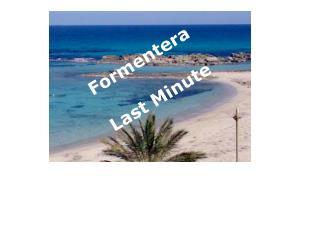 Formentera Last Minute