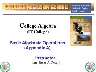 C ollege  A lgebra (IT-College)