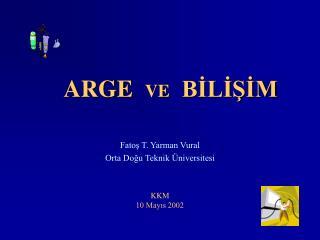 ARGE   VE   BİLİŞİM