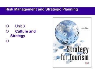 Risk Management and Strategic Planning
