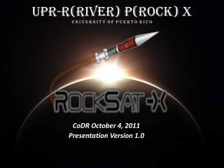 UPR-R(river) P(rock) X U n I v e r s I t y  o f  P u e r t o  R I c o