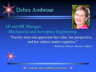 Debra Ambrose