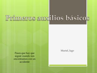 Muriel, Iago