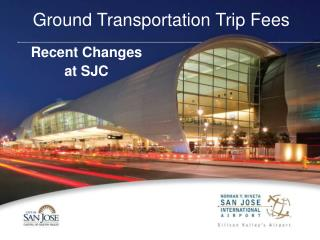 Ground Transportation Trip Fees