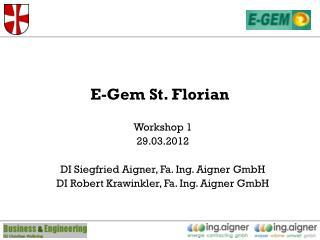 E-Gem St. Florian