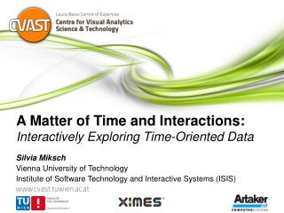 A Matter of Time and Interactions:  Interactively Exploring Time-Oriented Data