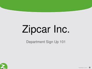 Zipcar Inc.
