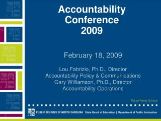 Accountability  Conference 2009