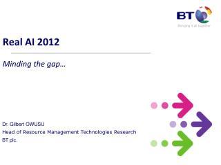 Real AI 2012  Minding the gap…