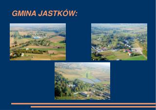 GMINA JASTKÓW: