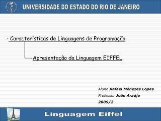 Características de Linguagens de Programação
