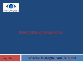 Empowering consumers :