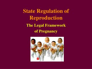 State Regulation of Reproduction